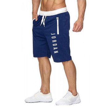 New Jordan shorts men's fitness bodybuilding shorts men's summer gym exercise men's breathable quick-drying sportswear jogging 12