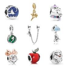 Новинка, сплав, шарик Микки и Минни, сказочный Дамбо, любовь, шарм, подходит для Пандоры, браслет, ожерелье, сделай сам, Женские Ювелирные изделия
