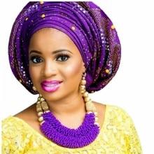 สีม่วงชุดเครื่องประดับสำหรับสตรี GOLD สีลูกแอฟริกันชุดเครื่องประดับไนจีเรียลูกปัดชุดจัดส่งฟรี 2018 แฟชั่น