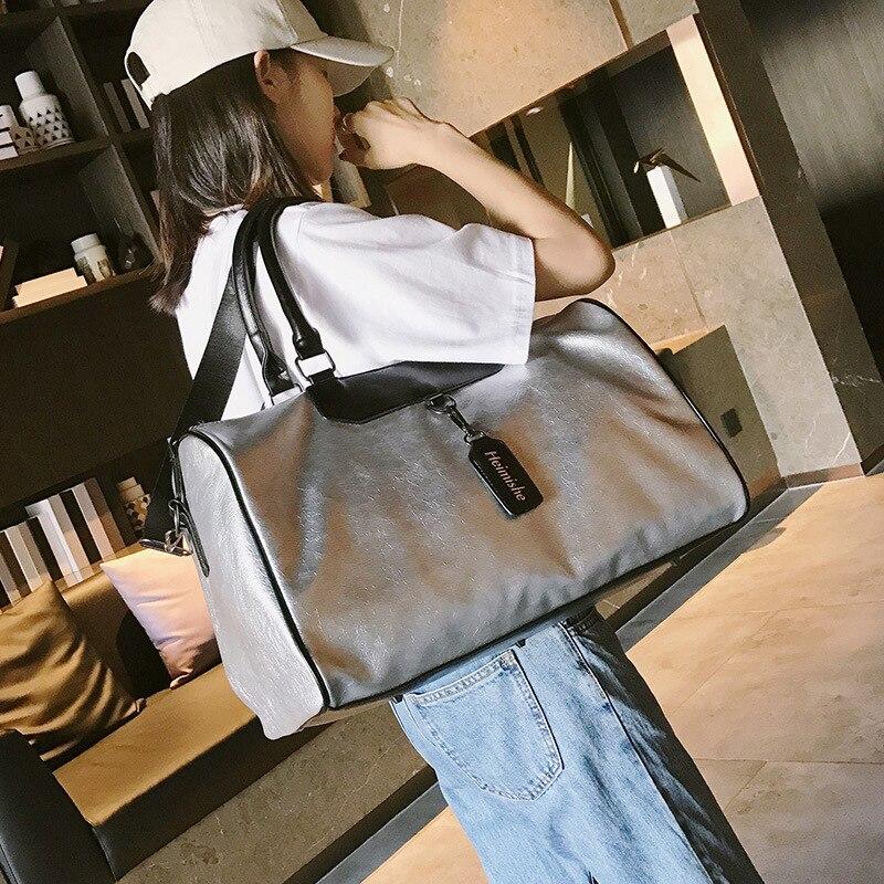 Короткая дорожная водонепроницаемая сумка в Корейском стиле, большой объем, для деловых поездок, путешествий, багажа, легкая