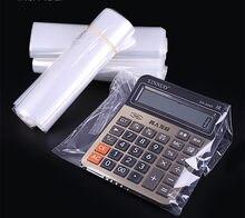 POF – sac thermorétractable à Film Transparent, sac cadeau, sacs thermorétractables à chaud, pochette transparente à thermocollage, emballage de chaussures