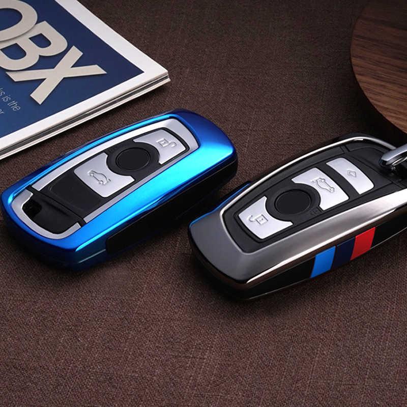 車のキーケースカバー bmw 520 525 f30 f10 F18 118i 320i 1 3 5 7 シリーズ X3 X4 m3 M4 M5 E34 E90 E60 E36 キーチェーン車のスタイリング
