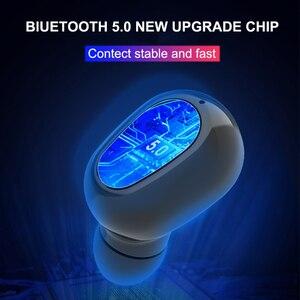 Image 3 - Bluetooth 5,0 Wirless Kopfhörer HIFI Stereo Bass Kopfhörer MicHeadset Wasserdichte Led anzeige Ohrhörer für Samsung Xiaomi Hinweis 10