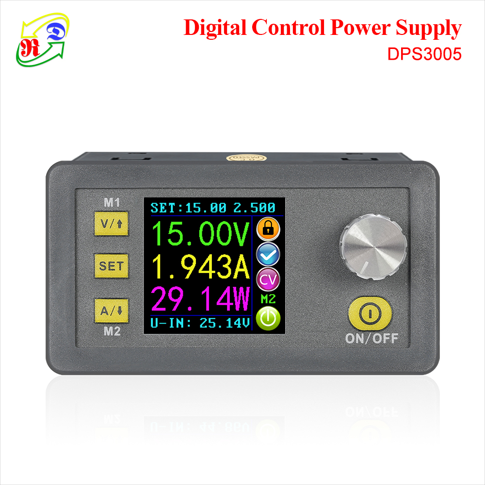RD DPS3005 Constant Voltage current Step-down Programmable Power Supply module buck Voltage converter color LCD voltmeter Стёганое полотно