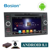 OCTA CORE Android 8.1 for FORD connect S-Max C-max Kuga Fusion Transit Fiesta Focus II  2 din 1024*600 WIFI car dvd gps player