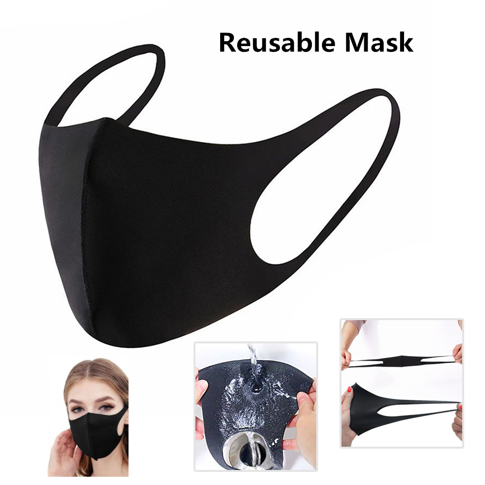 Anti-Dust Mouth Mask Riding Face Protection Mascherine Adults Breathable Dustproof Masks Masque Reusable Anti Pollution Shield