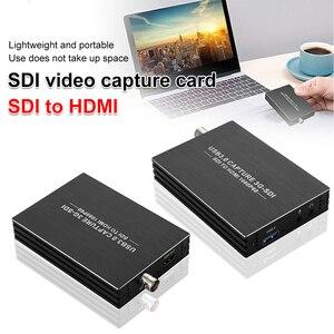 Image 1 - Hd1080p 4k hdmi placa de captura de vídeo hdmi 3g sdi usb 3.0 vídeo captura jogo de tabuleiro gravação transmissão ao vivo tv loop local