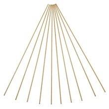 10pcs Welding Wires Brass Rod Wires Sticks Kit For Repair Welding Brazing Soldering 2mmX250mm