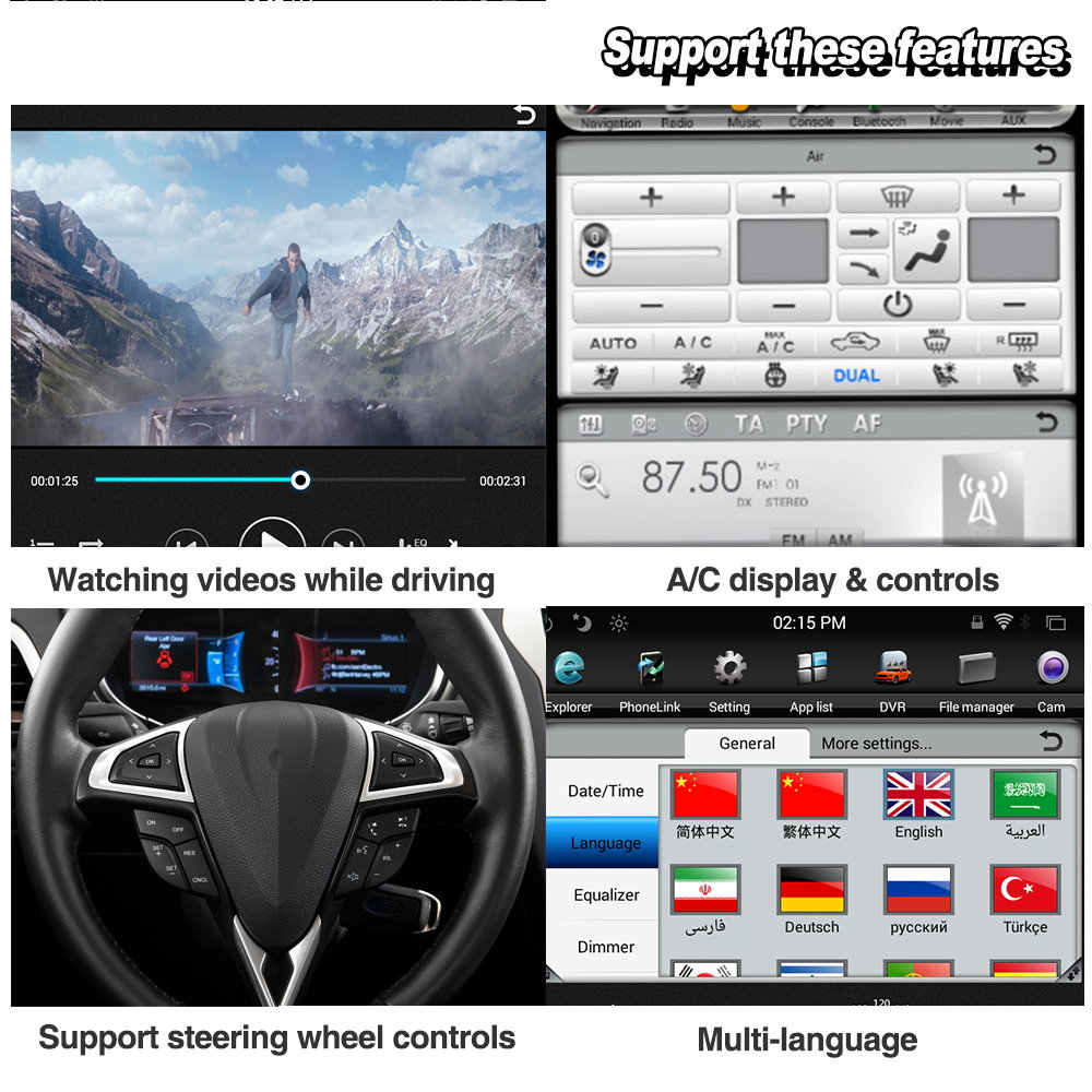 Image 5 - Liorlee For Range Rover Sport 2009 2013 Car Radio Android HD Screen GPS Navigation original style Multiemdia SystemCar Multimedia Player   -