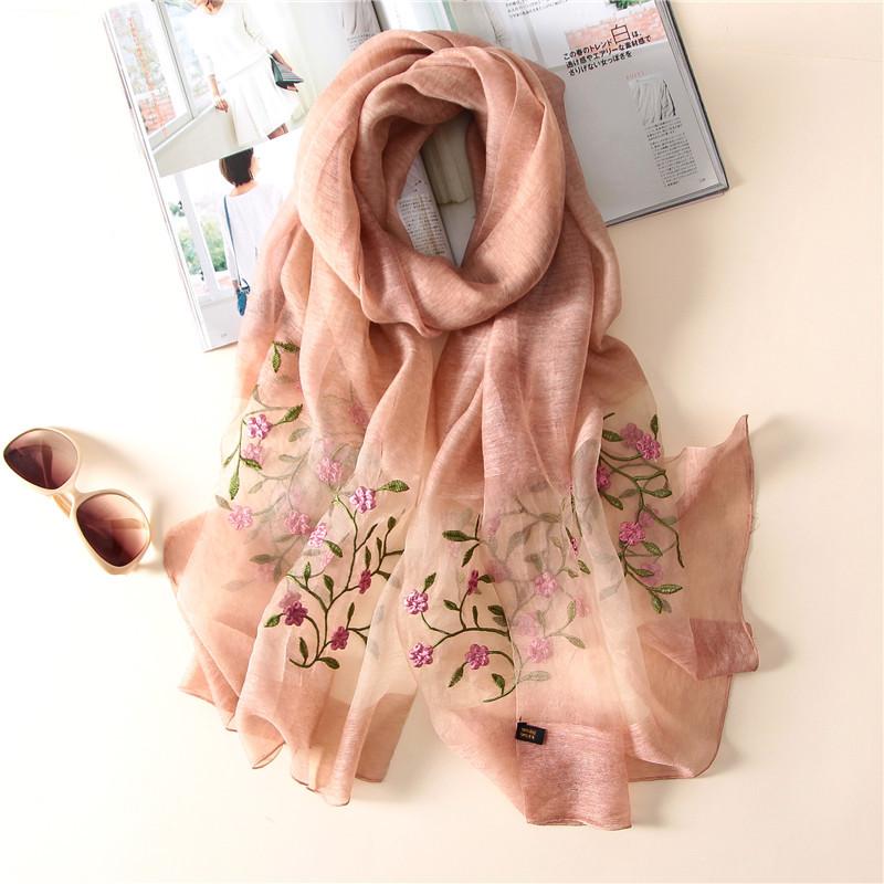 ALWYHH primavera estate donna sciarpa Houndstooth stampa scialli e impacchi per signora sciarpe di seta pashmina spiaggia stole foulard