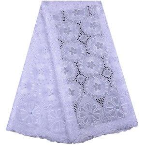 Image 2 - 2019 mais recente francês africano tecido de renda alta qualidade tule algodão renda para vestido swiss voile renda na suíça 1467