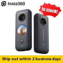 Insta360 One X2 360 Action Camera 5.7K VR Video 10M impermeabile Insta 360 One X2 Pocket Panorama casco subacqueo Pro Sport Cam
