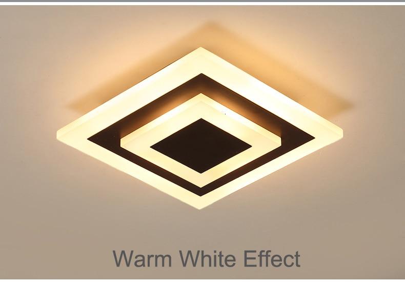 H85f17c7261b544dbbd6cf8050458bda3f Modern ceiling lights 12w for hallway balcony corridor Coffe white light lamps bedroom luminaria teto acrylic lamparas de techo