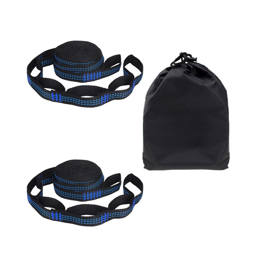2 шт.% 2FSet% 285 +% 2B 1 кольцо ткань сумка упаковка% 29 гамак ремни высокая несущая способность открытый гамак специальный усиленный полиэстер ремни