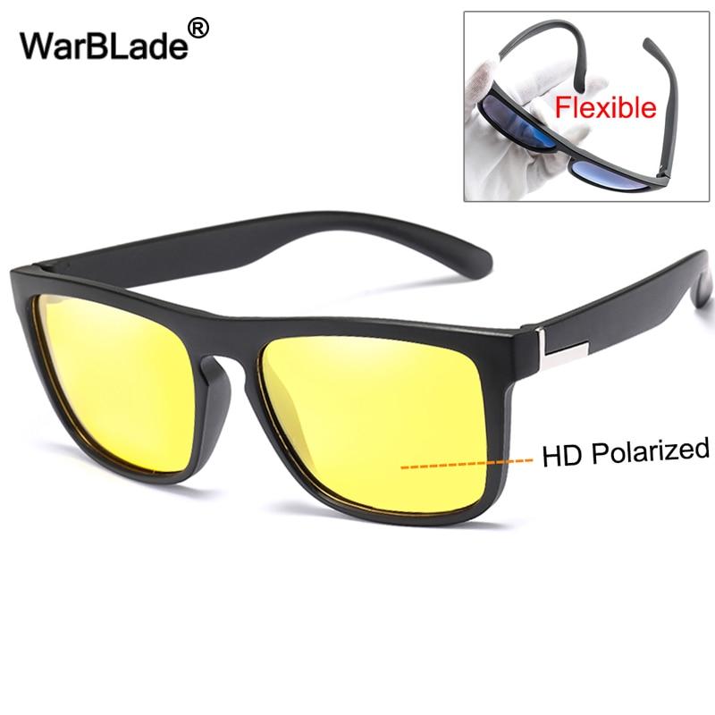 Guida visione Notturna Occhiali Anti Glare Occhiali da sole di sicurezza Occhiali lente gialla