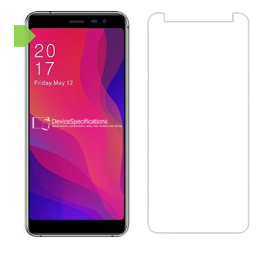 Allcall Rio X S1 5 5 Glass 9H Tempered Glass for Allcall Rio X Screen Protector