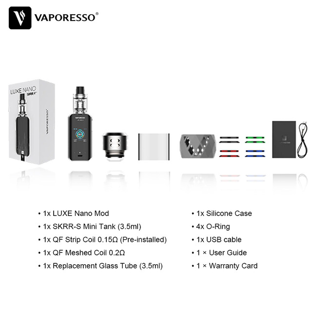 , Vaporesso Luxe Nano Kit