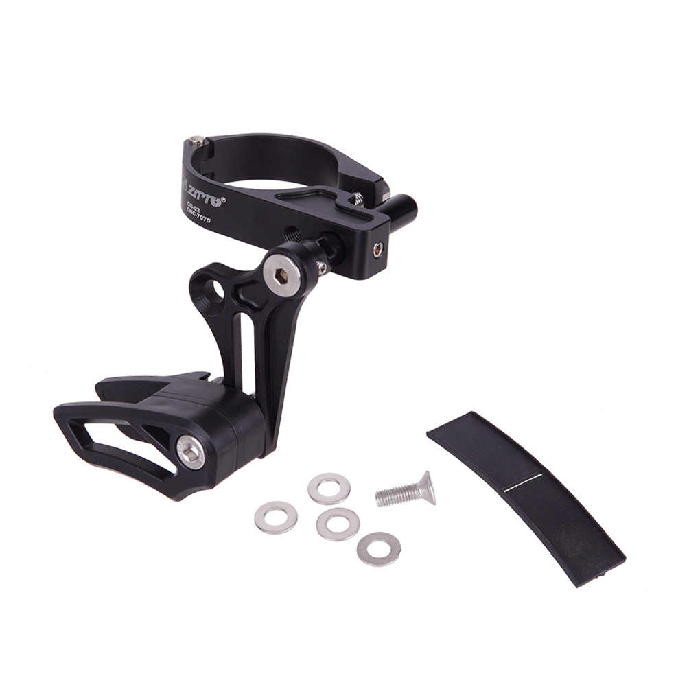 Mountain Chain guide ​ Aluminum Alloy Black 1pc Direct Mount Practical