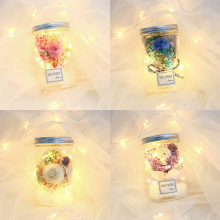 LED Night Light Rose Bedroom Decoration Artificial Rose Flowers Fairy Light For Wedding Party Birthday Valentine'S Day Gift D30