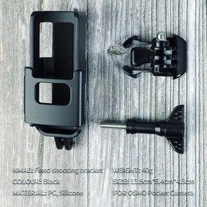 Image 5 - Suporte de montagem Suporte com 1/4 de Parafuso para DJI Osmo interface Da Câmera de Bolso & Cam Ação de Montagem para Tripé Selfie Vara bicicleta