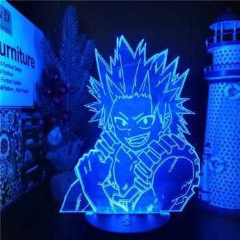 Lámpara LED De My Hero Academia para Dormitorio De Navidad, lámpara De...