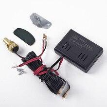 Цифровой светодиодный Автомобильный/автоматический датчик температуры воды и набор датчиков подходит для двигателя
