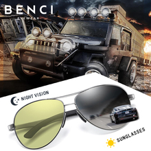 BenciTop Quality Aviation Men Pilot Sunglasses Polarized Dri