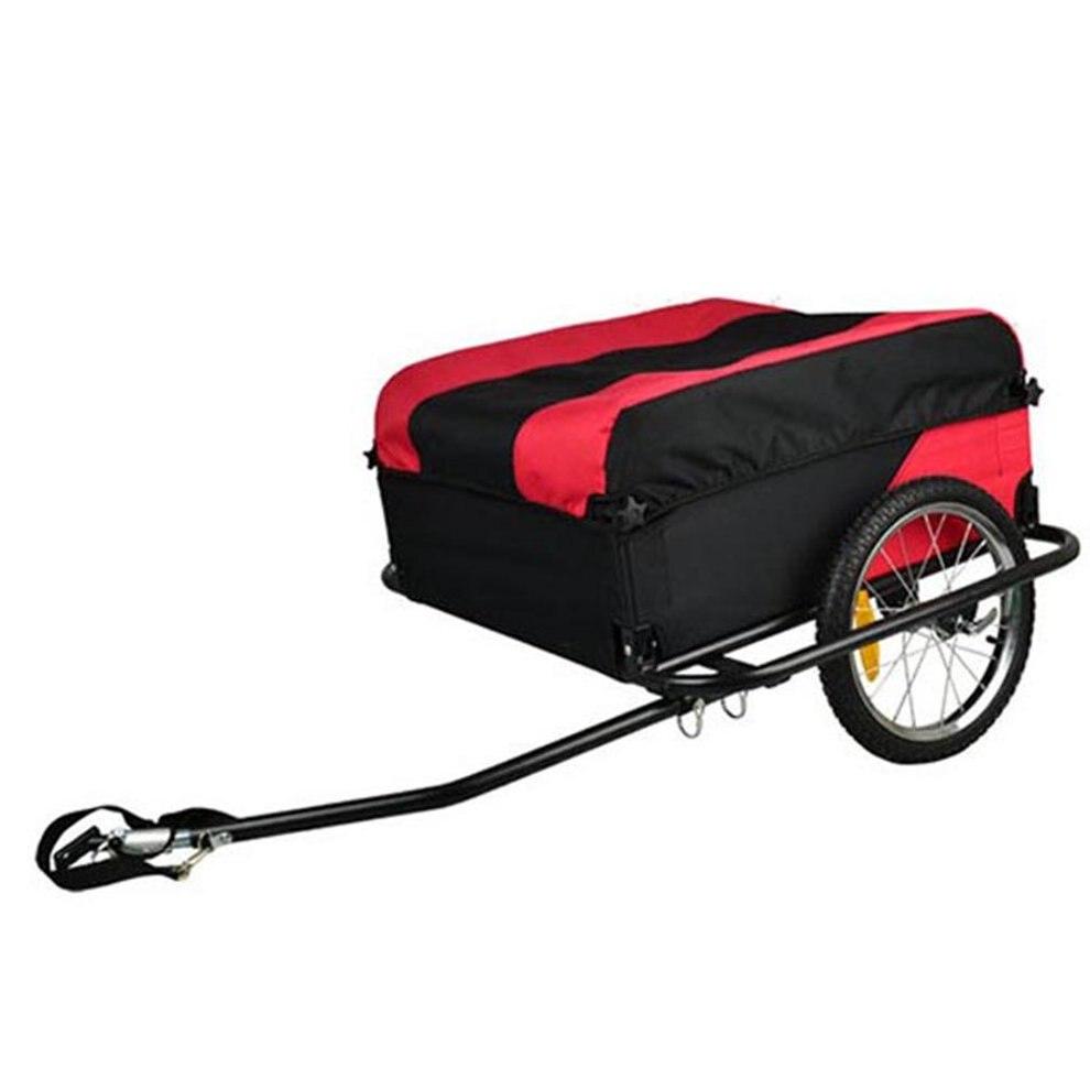Alliage de métal de remorque de cargaison d'animal familier de chien de cargaison de vélo se pliant léger robuste porte la bande réfléchissante de 40Kg