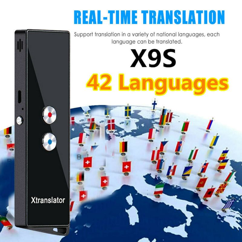 Portable Smart Translator Real-Time Intelligent 40+ Multi-Language Voice Text Translation Device