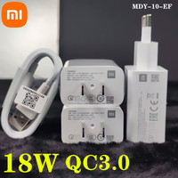 Xiaomi mi6 cargador rápido 18W QC3.0 adaptador de corriente USB Cable de tipo C para Mi 9se 8 lite 6 9T A1 A2 Redmi Note 7 8 9s K20 k30 Pro