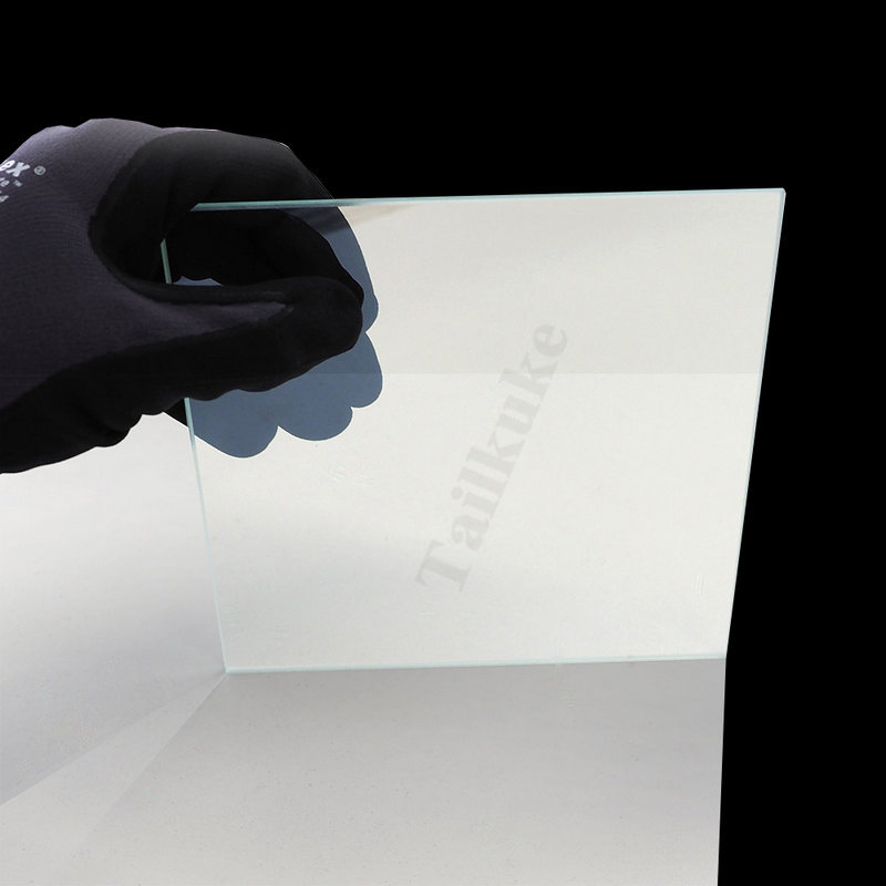 Professional Teleprompter Glass Imported 2mm Spectroscope Ultra-thin Film Transparent Glass Without Ghosting