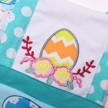 Easter Kids Baby Girl Embroidery Clothes