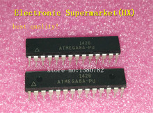 Free Shipping 50pcs/lots ATMEGA8A-PU  ATMEGA8A  ATMEGA8  DIP-28 100%New original  IC In stock! цена и фото