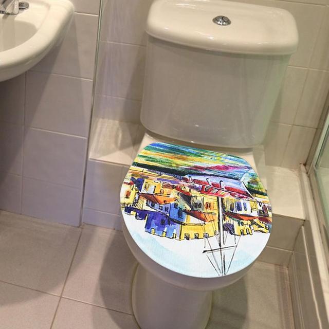 3 pièces/ensemble tapis de douche antidérapant toilette couvercle Pad tapis de sol maison salle de bain approvisionnement tapis de bain tapis décor à la maison salle de bain produits
