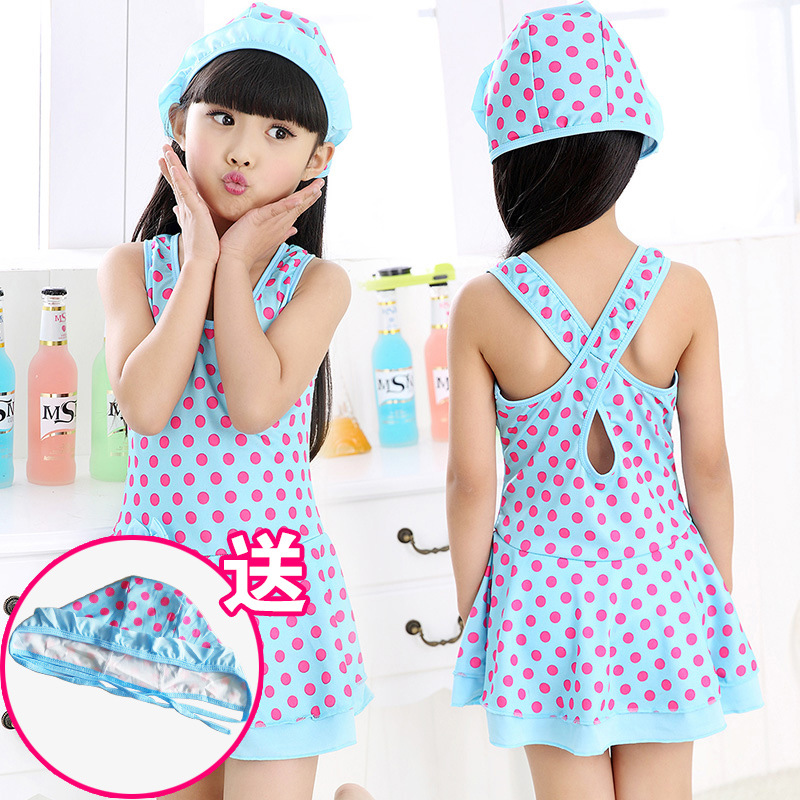 5-Year-Old Chant Clothing Skin-Friendly Trend 12-Year-Old KID'S Swimwear Women's Girls Four Years Old Cool GIRL'S Five-Year-Old