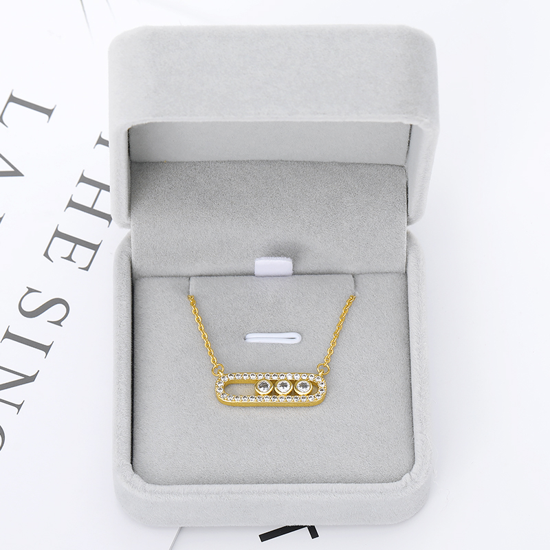 Small Suede Gift Box For Necklace Bracelet Jewelry Display Packaging Box