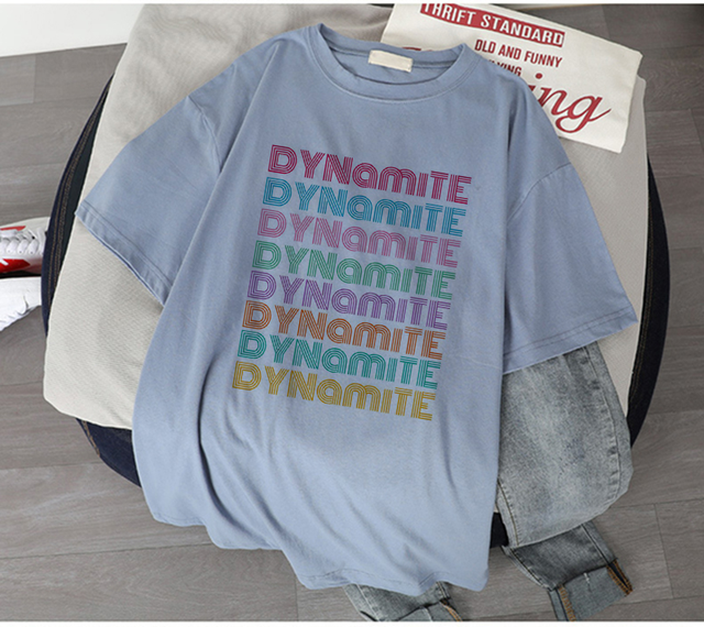 DYNAMITE THEMED T-SHIRT (5 VARIAN)