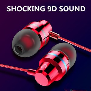 Wired Earbuds Headphones 3.5mm