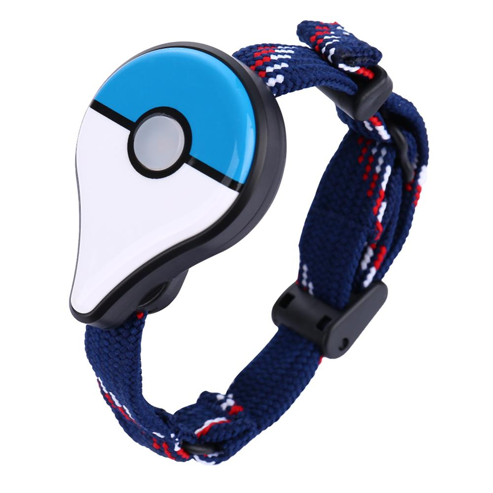 1pc Bluetooth Wristband Automatic Remind Bracelet Interactive Figure Toys Game Accessory For Nintend Go Plus Red Blue