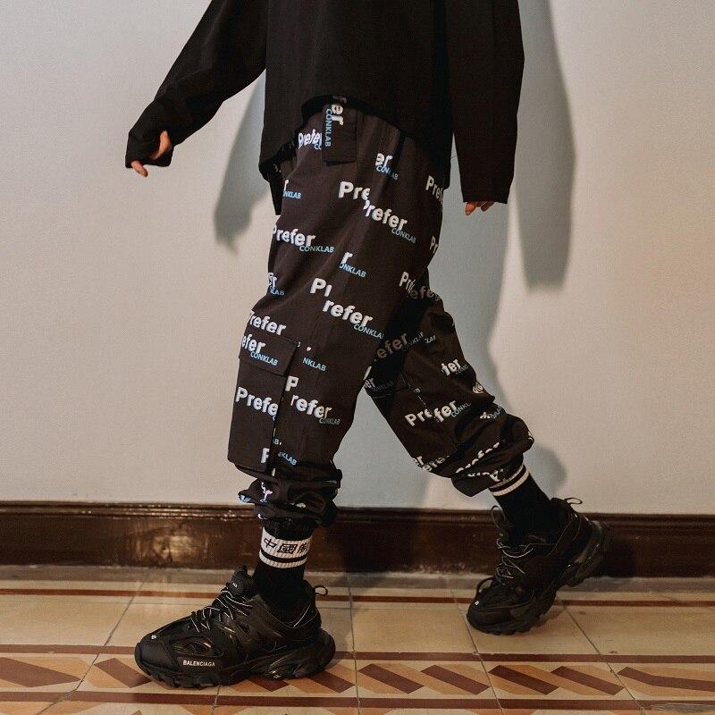 Autumn Couple Tide Brand Full Printed Trousers Men's Tide Hip Hop Loose Pants Ins Super Popular New Arrival Pants