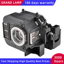 Replacement Projector lamp For EPSON EB 824H/ EB 825H/ EB 826W/ EB 826WH/ EB 84/ 84H/ 84HE/ EB 85H/ EMP 84HE/ H354A GRAND
