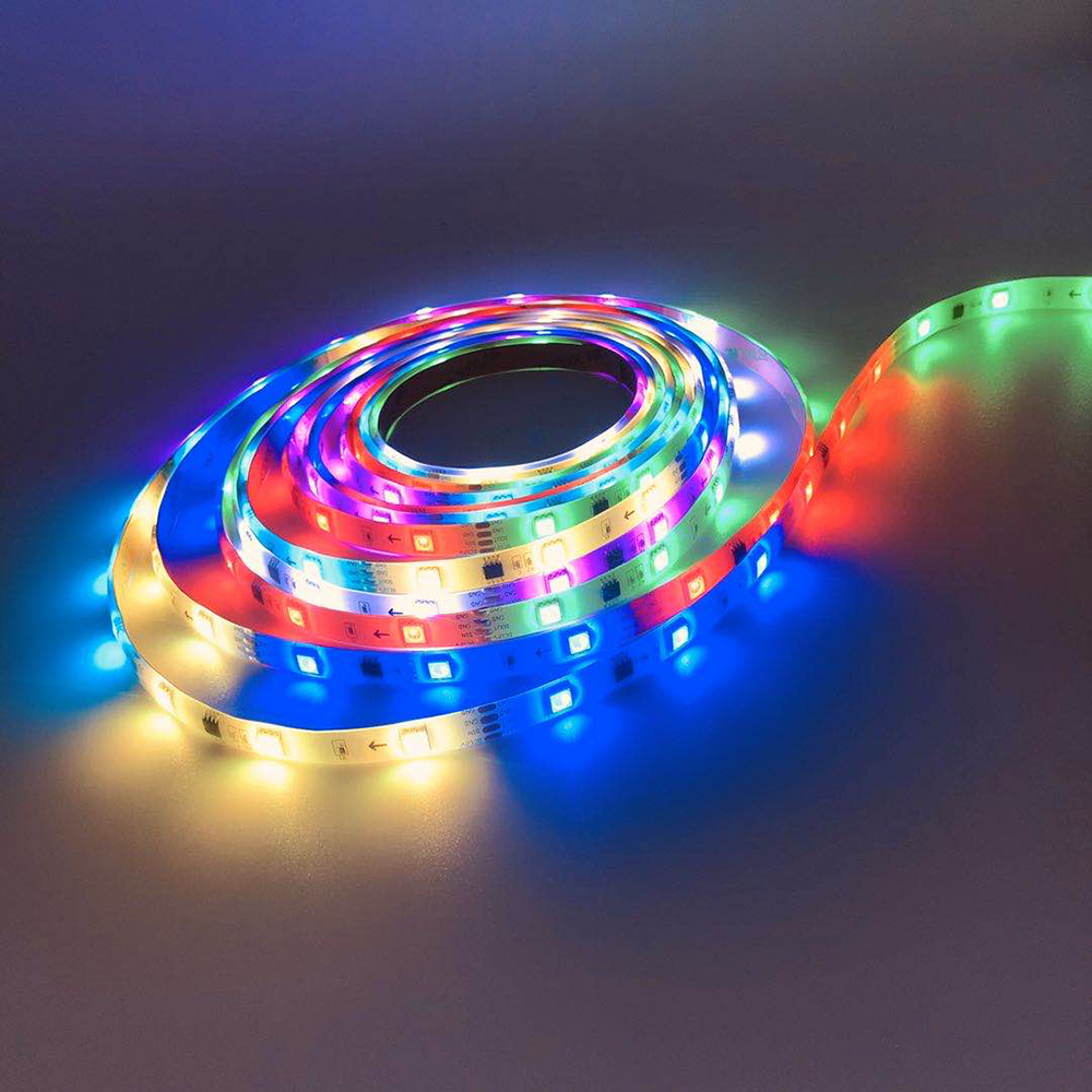 cheapest 5M 5050 SMD LED Strip RGB RGBW  RGB   White  RGBWW  RGB Warm White  RGBCCT Flexible LED String light 5M  300 LEDs 12V  24V Home