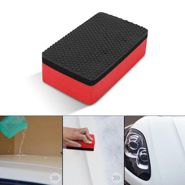 다기능 자동차 자동 바퀴 브러쉬 스폰지 클리너 도구 타이어 허브 왁싱 연마 브러쉬 청소 도구 자동차 액세서리