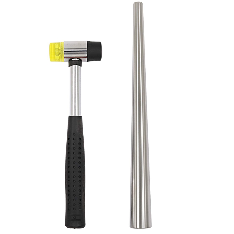 Jewelry Hammer With Ring Mandrel Sizer Set Double Face Hammer Jewelers Making Tool
