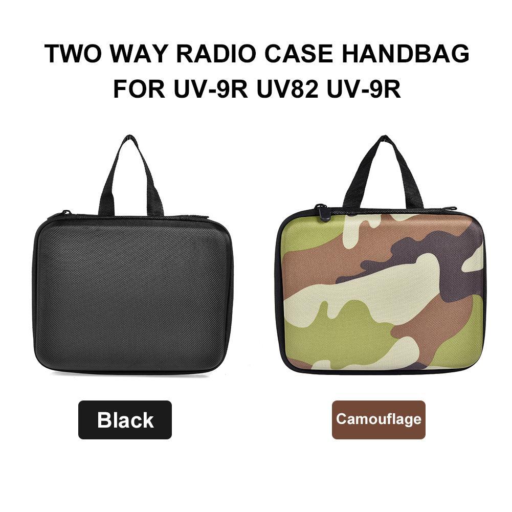 Walkie-talkie Handbag Storage Bag For Baofeng UV-9R UV82 UV-9R UV9RPLUS Walkie-talkie Original Protective Case Bag