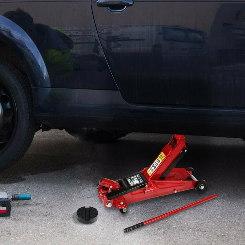 Rubber Car Slotted Frame Jack Pad Mat Protection Auto Jacking Lifting Support