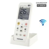 K 390EW WiFi Smart Universal LCD Air Conditioner A/C Remote Control Controller For Panasonic Fujitsu Gree Air Conditioning
