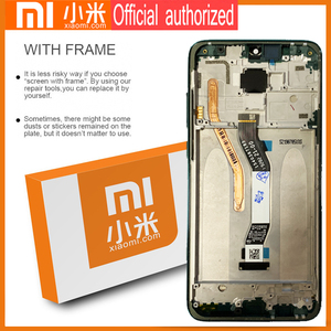 Image 3 - Original 6.53 Display with frame for Xiaomi Redmi Note 8 Pro LCD Display Screen Touch Digitizer Redmi Note8 Pro Repair Parts
