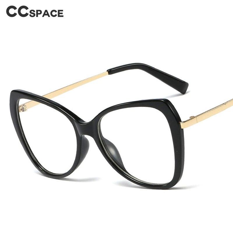 48110 Plastic Titanium Glasses Frames Cat Eye Ultralight Retro Men Women Optical Fashion Computer Glasses