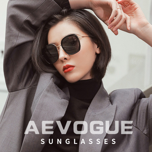 Image 3 - AEVOGUE ใหม่แฟชั่นผู้หญิงรูปหลายเหลี่ยมแว่นตากันแดด Polarized กรอบแว่นกันแดดขนาดใหญ่กลางแจ้งขับรถ Gradient เลนส์แว่นตา UV400 AE0833